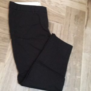 Black cropped dress pant - JCrew